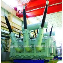 132KV / 25MVA OLTC ONAN Transformateur d'énergie alimenté par immersion à l'huile a
