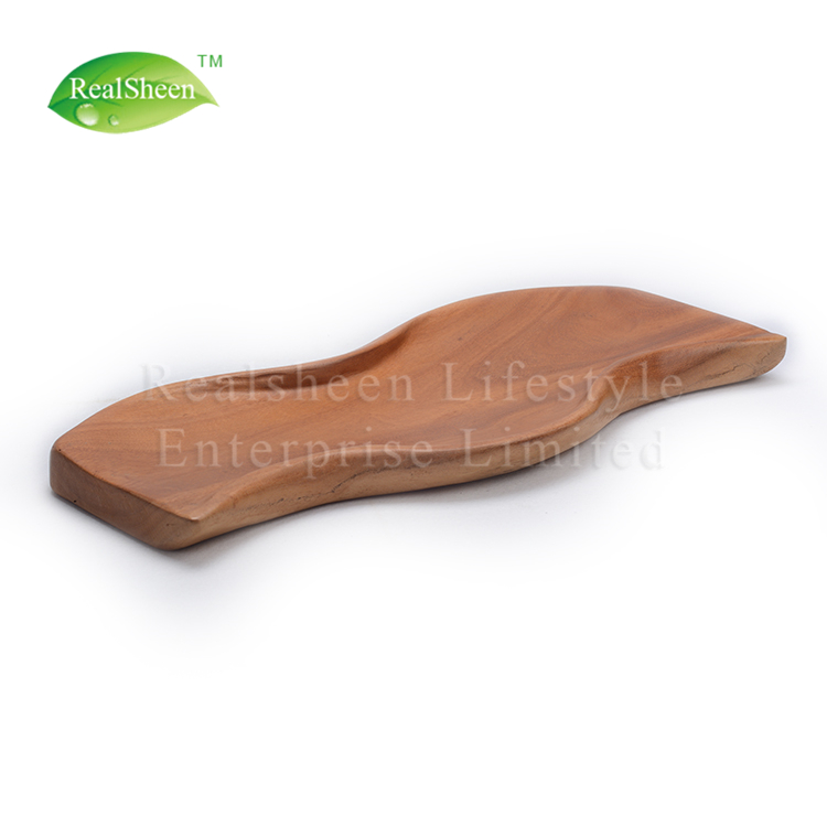 Wooden Plate Snack Fruit Cake Pastry