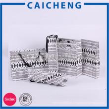 Dongguan Herstellung benutzerdefinierte Phantasie Griff Papier Geschenktüten