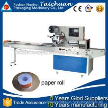 TCZB-450D Tipo de travesseiro automático papel rolo roll máquina preço com CE CERTIFICAÇÃO