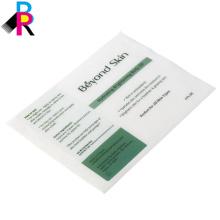 Impresión personalizada de etiquetas de papel con logotipo propio