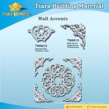 Matériel de décoration exquis pu accents muraux pour décoration intérieure