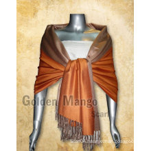 2016 latest Double Face solid color viscose scarves