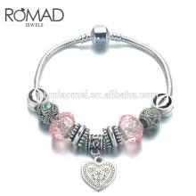 2017 Retro folk style color ceramic beaded pendant leaves Leather Bracelet wedding jewelry Ceramic jewelry cool bead bracelets