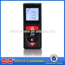 barato medidor de distancia láser LDM20M con medida de área / volumen