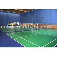 tapis de sol en plastique pour terrain de badminton