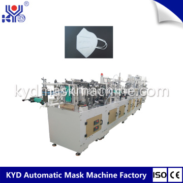 Auotmatic Folding Mask Machine com solda de válvula