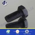 Tornillo hexagonal de bloqueo de sujetador DIN933 (negro-Zinc)