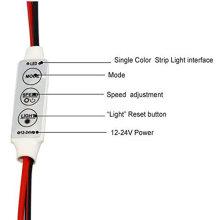 12V 12A en ligne Mini amplificateur de lumière unique LED pour des lumières de bande de lumière de couleur unique LED
