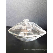 Perfume Bottles for Women with Exquisite Diamond Shape and High Quality Transparent Material