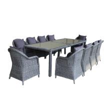 Hochwertige Outdoor Rattan Dining Furniture