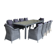 High Quality Outdoor Rattan Dining Furniture