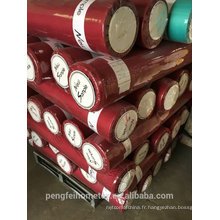 65 TISSU POLYESTER DYED GSM POUR L'ANGLETERRE