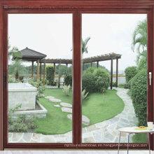 Solución de ventana de doble acristalamiento de aluminio (FT-W85)