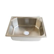 SUS 304 single bowl 50 x 40 stainless steel kitchen sink
