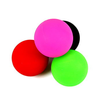 high quality solid rubber lacrosse ball