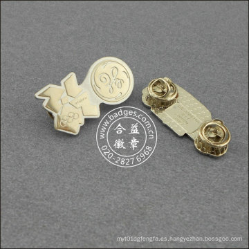 Pin Organizacional de Plata, Insignia de Forma Irregular (GZHY-LP-020)