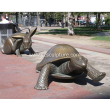 Bronze Turtle Sculpture For Sale