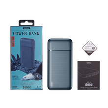 battery a Power Bank Mobile Charger 10000mah 3 USB External Battery Pack Cell Phone Portable Charger Power Bank Fast Charging