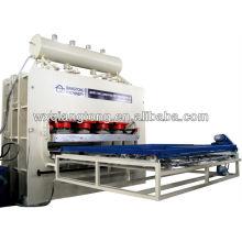 Hydraulic short cycle hot press for furniture/Furniture panels pressing machine/4x8feet MDF melamine laminating machine