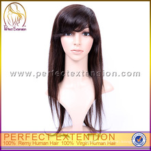 For African Woman Top Quality Human European Virgin Hair Jewish Wig