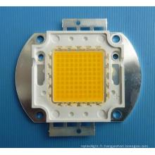 LED haute puissance de 100 W avec puce LED Epistar