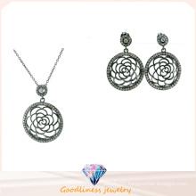 Wholesale Silver Fashion Women Jewelry Set Silver 925 (S3283)