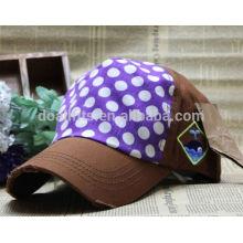 Werbe-Logo gedruckt Günstige benutzerdefinierte Baseball Cap