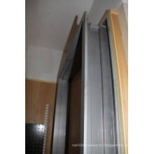 Cadre de porte en métal Cadre de porte en aluminium