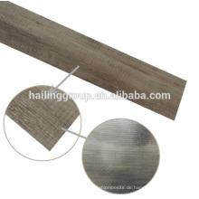 Fabriklieferant 5,0 mm PVC Vinyl Fliesenboden / trocknen zurück Vinyl Plank zum Verkauf