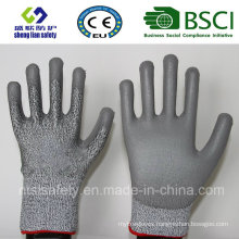 Cut Resistant Safety Work Glove with PU Coated