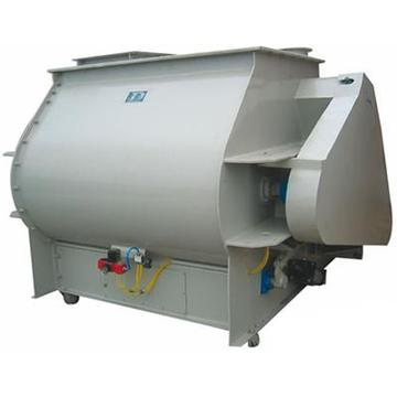Horizontal Dual Shaft Paddle Mixer Machine for Dry-Mixed Mortar