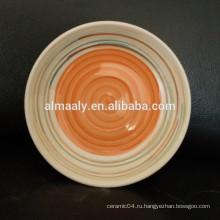 керамические тарелки с логотипом