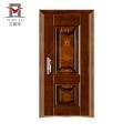 2018 los últimos diseños simples diseños de puerta principal de hierro
