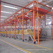 New Design Coating Line with Automatic Dipping Pretreatment