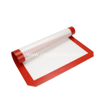 Oven Use Kitchenware Baking Mat with Silicone Coating