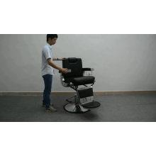 chair 180 degree reclining silla de barbero names of heavy equipment barber chair
