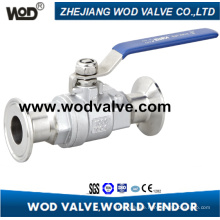 2PC Clamp Ball Valve