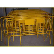 PVC-beschichtet / verzinkter temporärer Zaun