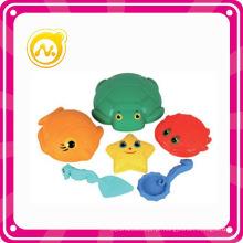 O mais novo brinquedo de verão 6 PCS Plastic Beach Toy