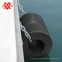 Made in China doca de certificação CCS / navio fender de borracha cilíndrica marinha