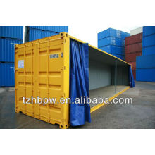 container side curtain