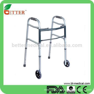 Aluminum European style elderly walker