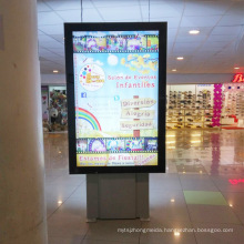 Double Sided Aluminum Profile Outdoor Scrolling Advertising Light Box