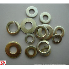 zinc-plated washer