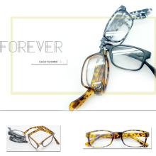New Plastic Folding Reading Glasses Meet CE, FDA