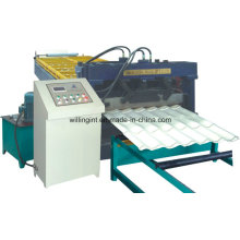 Automatische Rollformmaschine für Stahlblechfliesen Roll