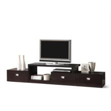Meuble de rangement pour meuble de télévision avec 3 portes