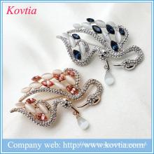 Robes de mariée 2015 ornements de noël broches de fleurs ruban