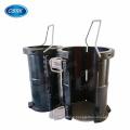 Cast Iron Cylinder mould 100*200mm for concrete elastic modulus test Split plastic cylinder mould